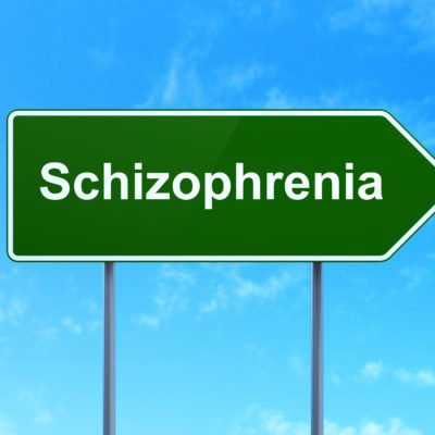 A PERSON WITH SCHIZOPHRENIA