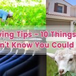 Saving Tips – 10 Things You Didn't Know You Could Rent
