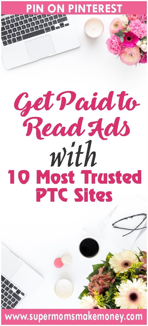 get paid with read ads from 10 ptc sites